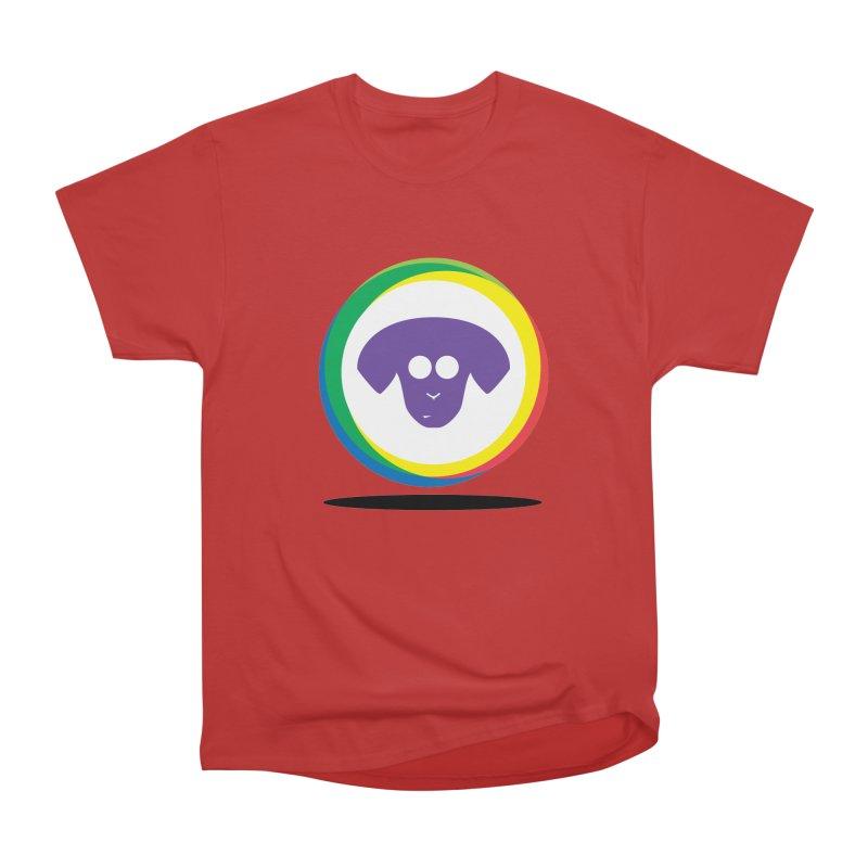 Donut Pup Women's Heavyweight Unisex T-Shirt by saberdog's Artist Shop