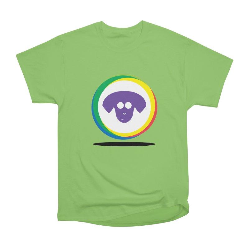 Donut Pup Men's Heavyweight T-Shirt by saberdog's Artist Shop