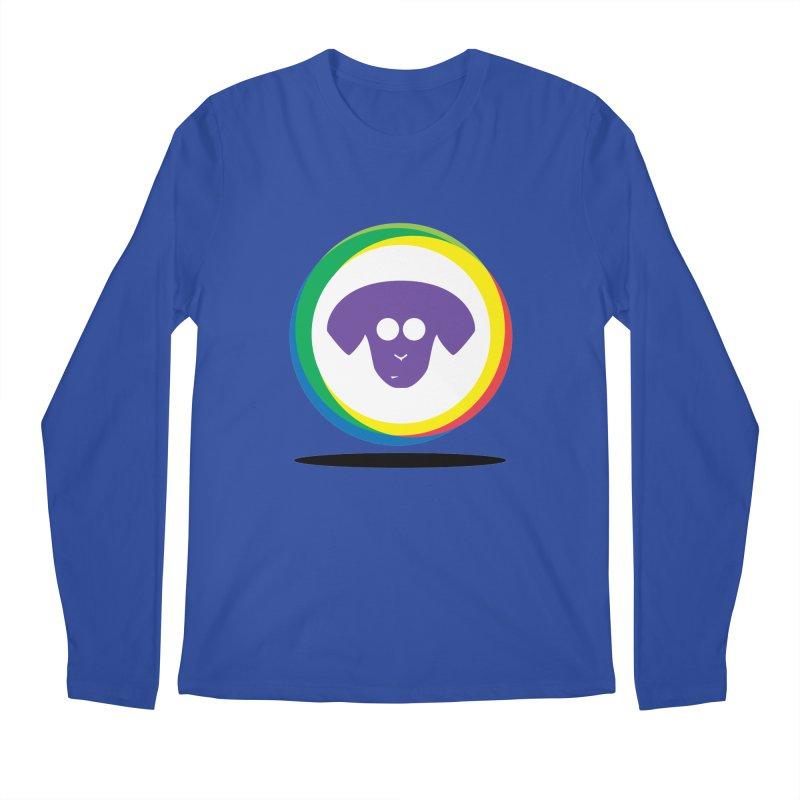 Donut Pup Men's Regular Longsleeve T-Shirt by saberdog's Artist Shop