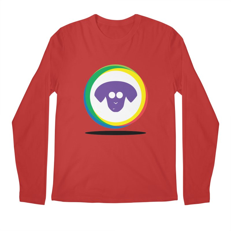 Donut Pup Men's Regular Longsleeve T-Shirt by saberdog's Artist Shop