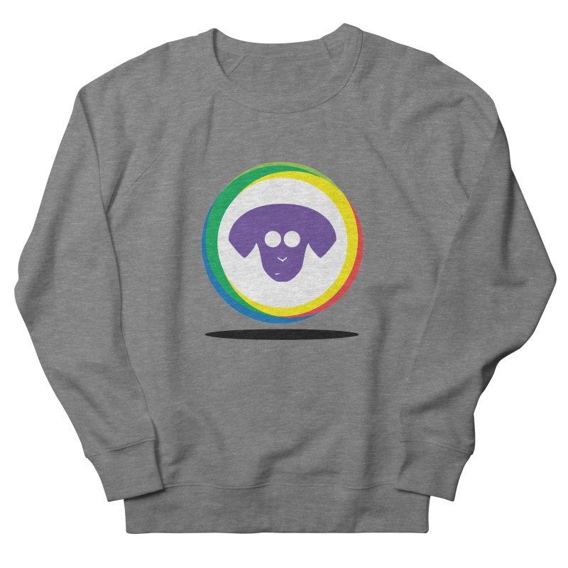 Donut Pup Women's French Terry Sweatshirt by saberdog's Artist Shop