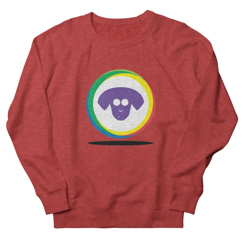 Donut Pup Men's French Terry Sweatshirt by saberdog's Artist Shop