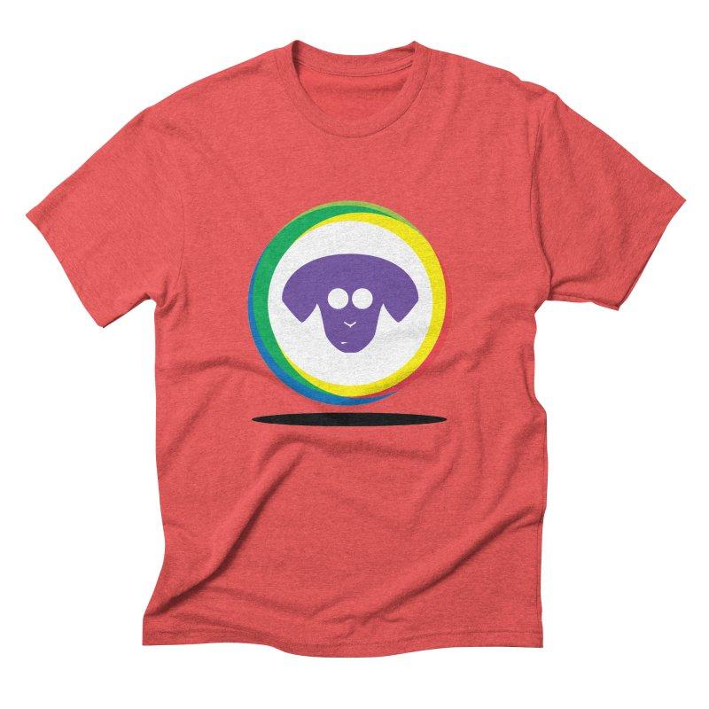 Donut Pup Men's Triblend T-Shirt by saberdog's Artist Shop