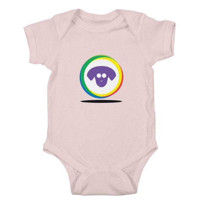 Donut Pup Kids Baby Bodysuit by saberdog's Artist Shop