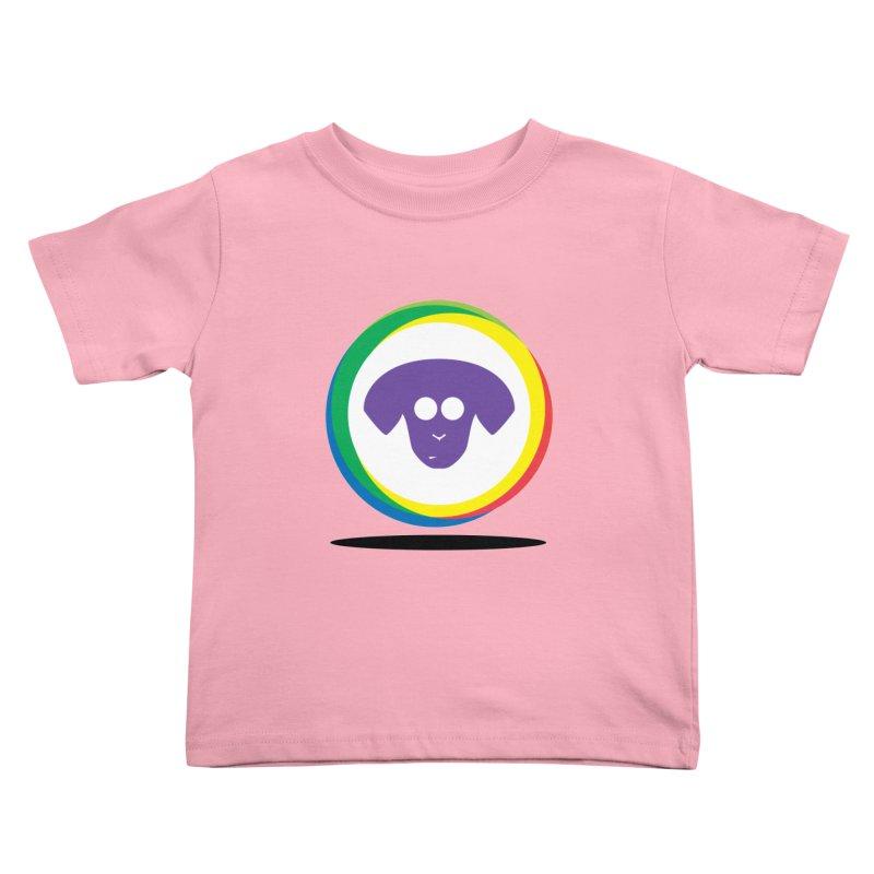 Donut Pup Kids Toddler T-Shirt by saberdog's Artist Shop