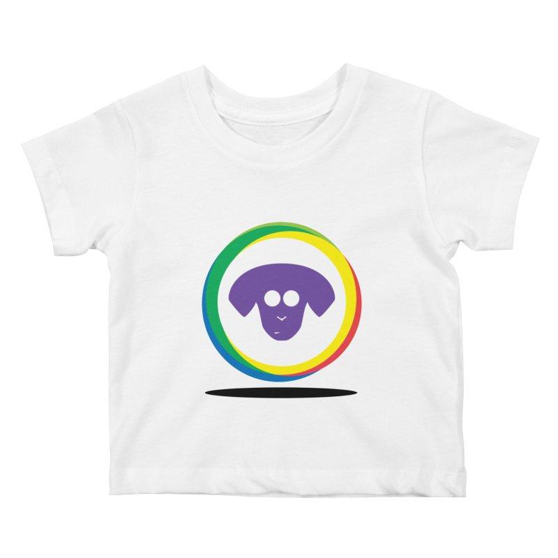 Donut Pup Kids Baby T-Shirt by saberdog's Artist Shop