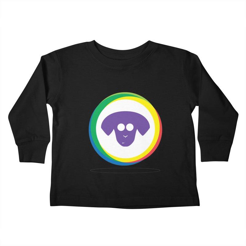 Donut Pup Kids Toddler Longsleeve T-Shirt by saberdog's Artist Shop