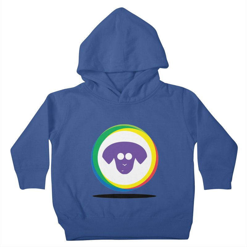 Donut Pup Kids Toddler Pullover Hoody by saberdog's Artist Shop