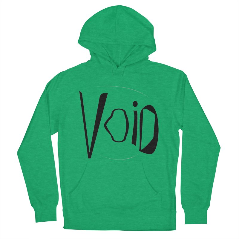 VOID Men's French Terry Pullover Hoody by saberdog's Artist Shop