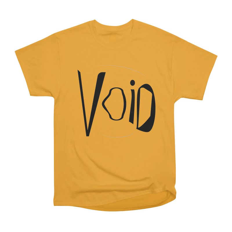 VOID Men's Heavyweight T-Shirt by saberdog's Artist Shop