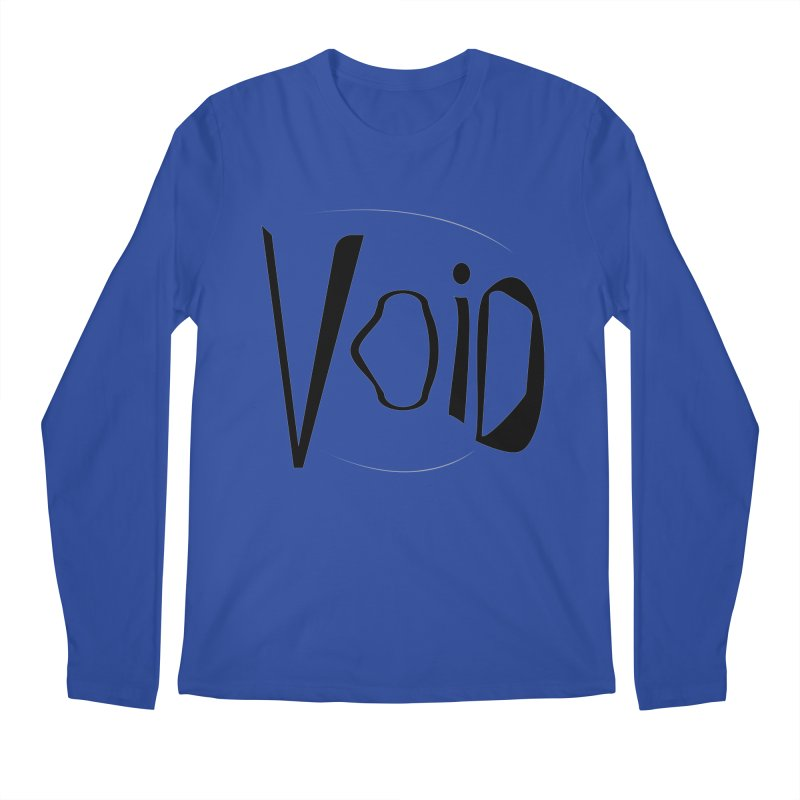 VOID Men's Regular Longsleeve T-Shirt by saberdog's Artist Shop