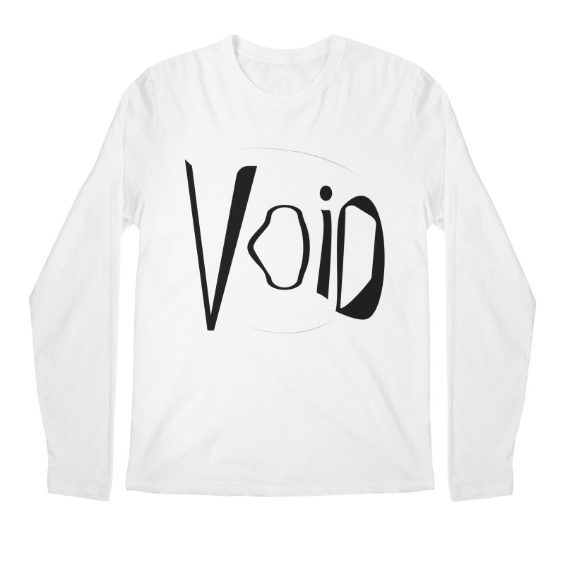 VOID Men's Regular Longsleeve T-Shirt by saberdog's Artist Shop