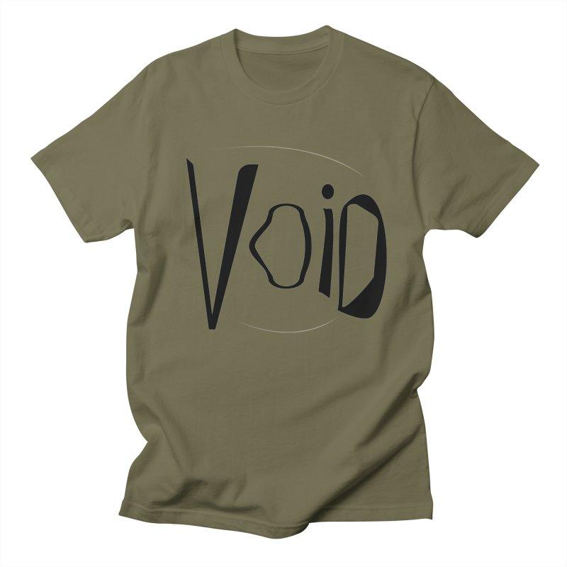 VOID Men's Regular T-Shirt by saberdog's Artist Shop