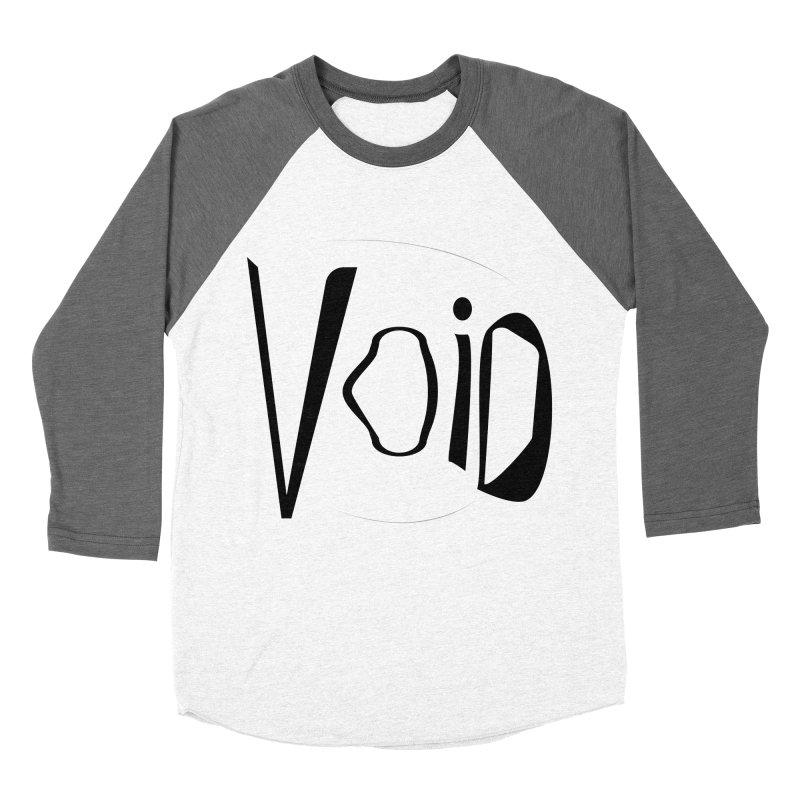VOID Women's Baseball Triblend Longsleeve T-Shirt by saberdog's Artist Shop