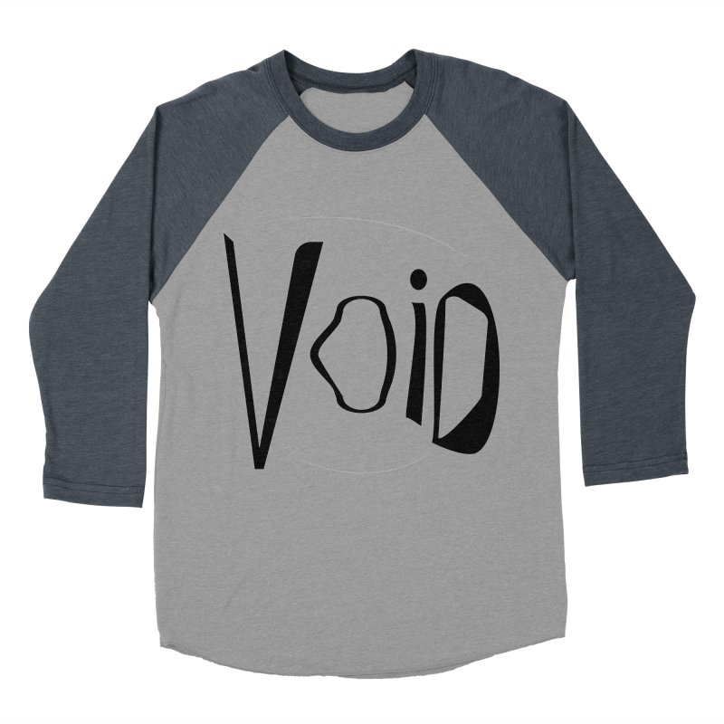 VOID Men's Baseball Triblend Longsleeve T-Shirt by saberdog's Artist Shop