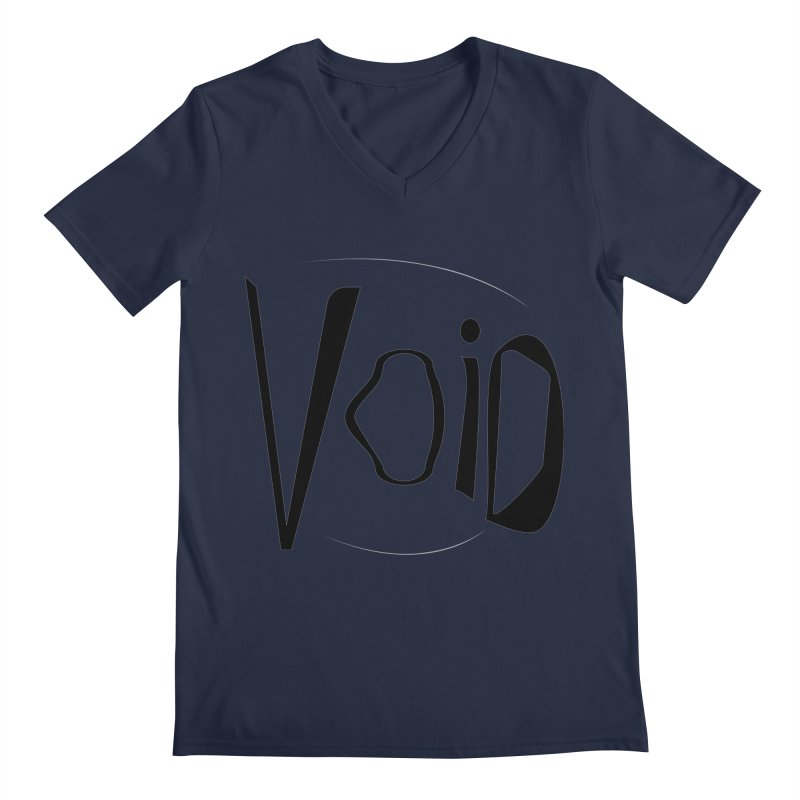 VOID Men's Regular V-Neck by saberdog's Artist Shop