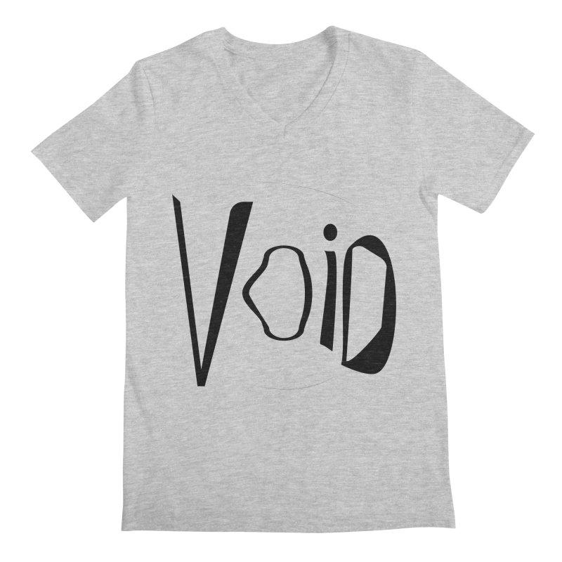 VOID Men's Regular V-Neck by saberdog's Artist Shop