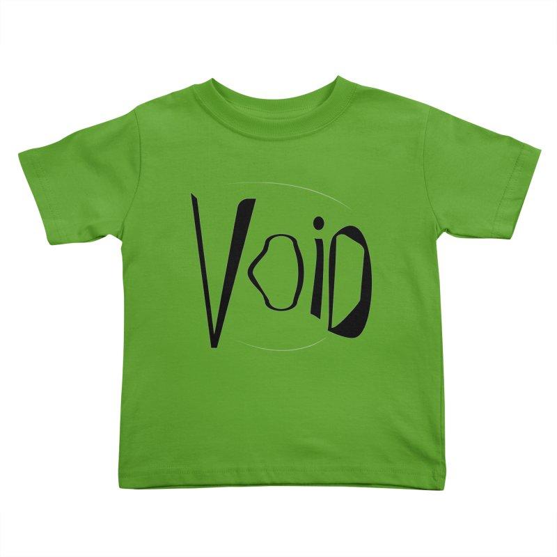 VOID Kids Toddler T-Shirt by saberdog's Artist Shop