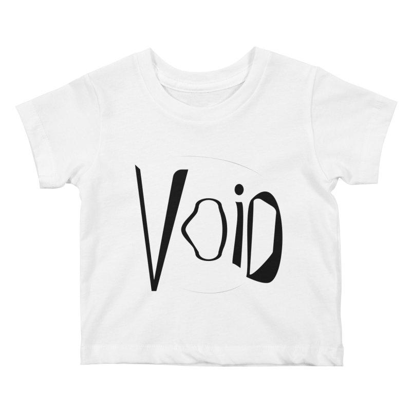 VOID Kids Baby T-Shirt by saberdog's Artist Shop
