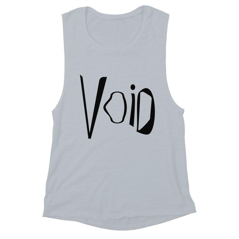 VOID Women's Muscle Tank by saberdog's Artist Shop