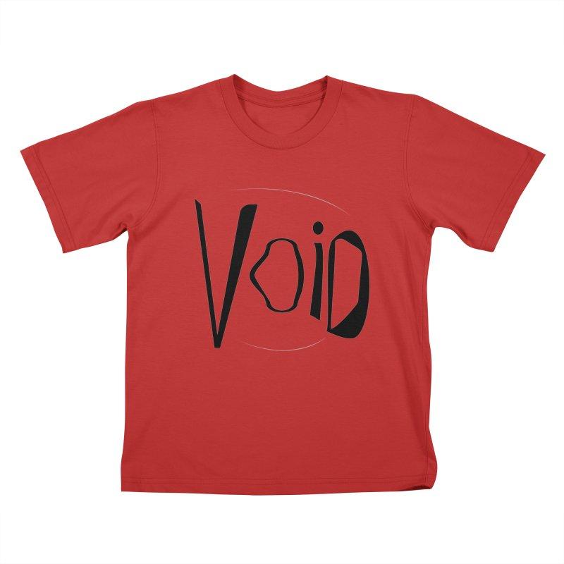 VOID Kids T-Shirt by saberdog's Artist Shop