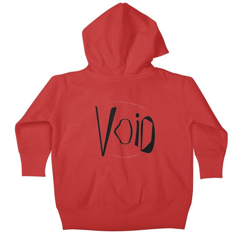 VOID Kids Baby Zip-Up Hoody by saberdog's Artist Shop