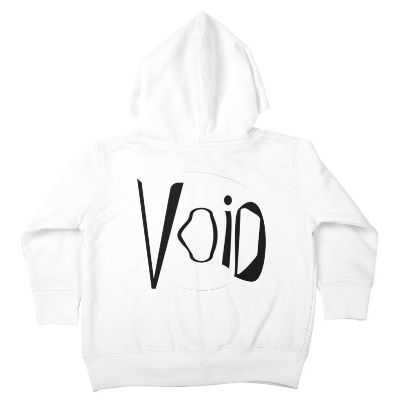 VOID Kids Toddler Zip-Up Hoody by saberdog's Artist Shop