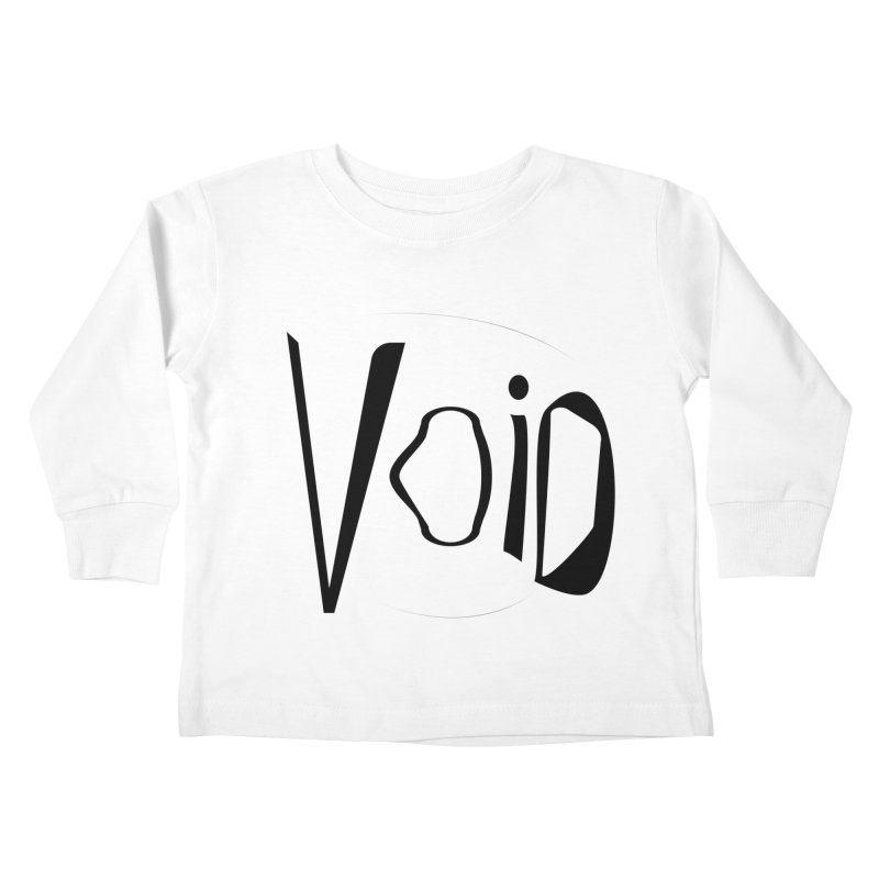 VOID Kids Toddler Longsleeve T-Shirt by saberdog's Artist Shop