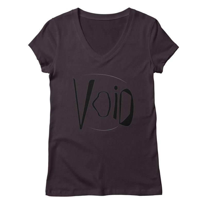 VOID Women's Regular V-Neck by saberdog's Artist Shop