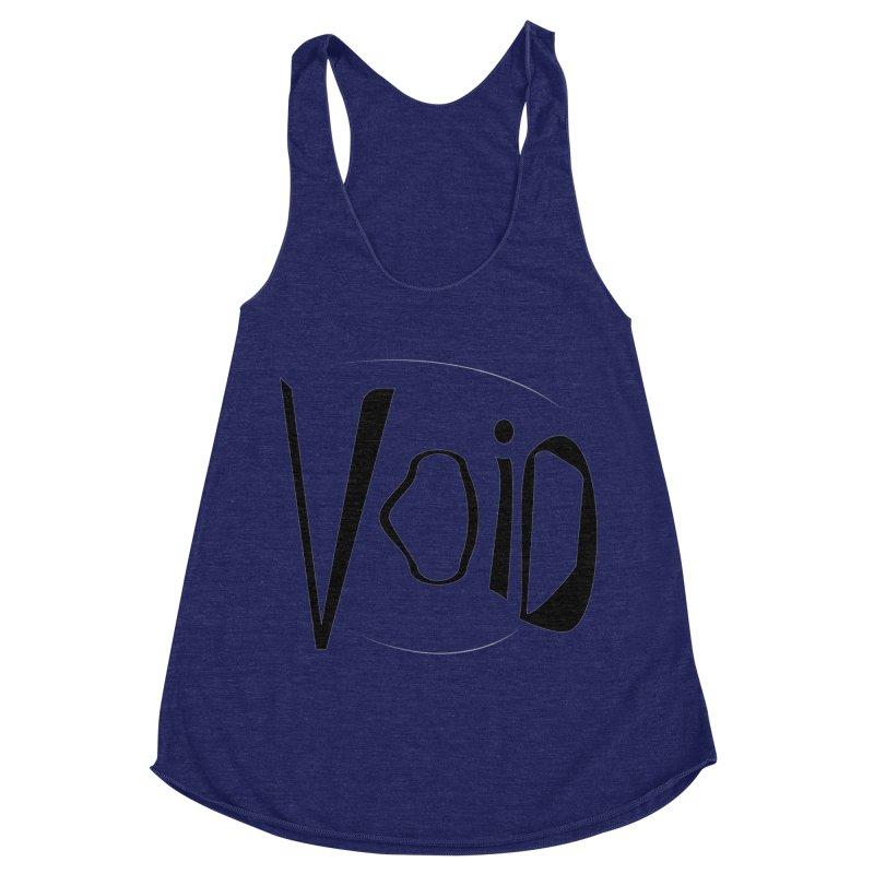 VOID Women's Racerback Triblend Tank by saberdog's Artist Shop