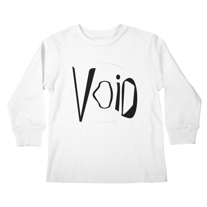 VOID Kids Longsleeve T-Shirt by saberdog's Artist Shop