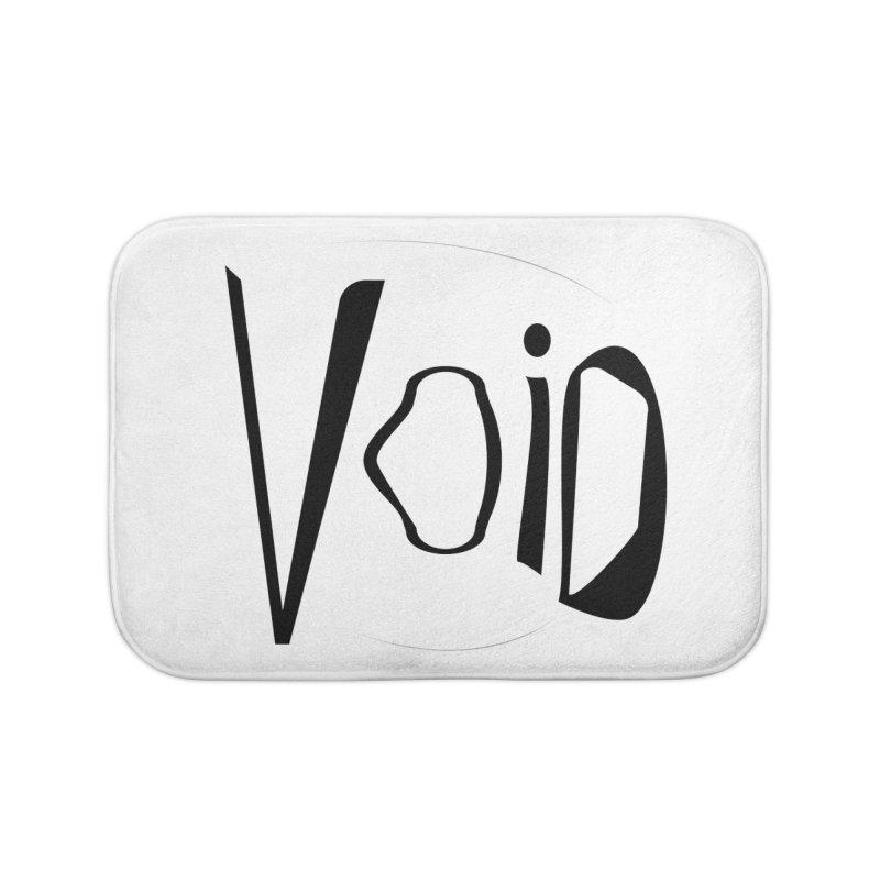 VOID Home Bath Mat by saberdog's Artist Shop