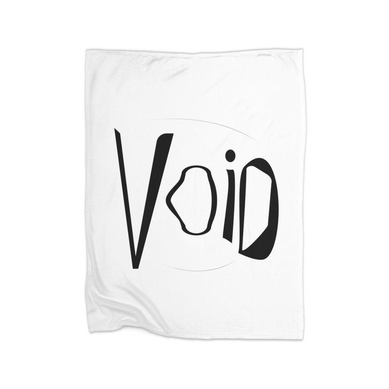 VOID Home Fleece Blanket Blanket by saberdog's Artist Shop