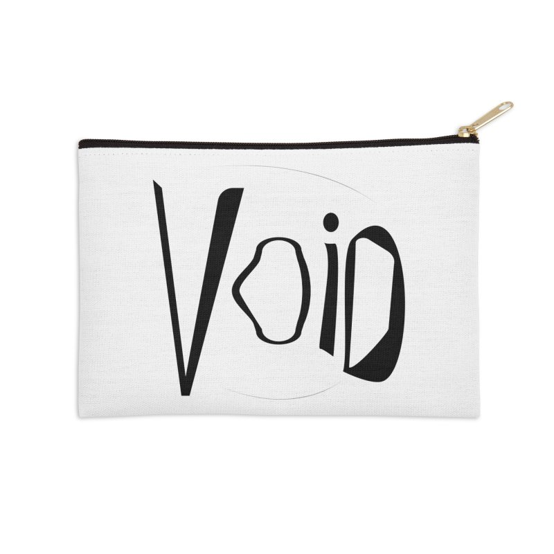 VOID Accessories Zip Pouch by saberdog's Artist Shop