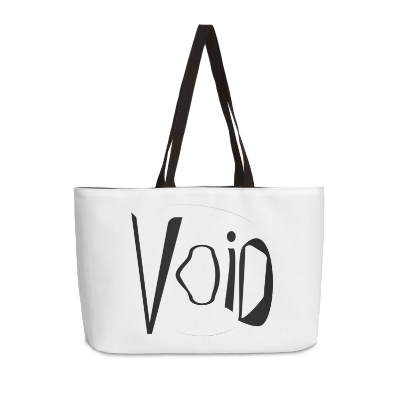 VOID Accessories Weekender Bag Bag by saberdog's Artist Shop