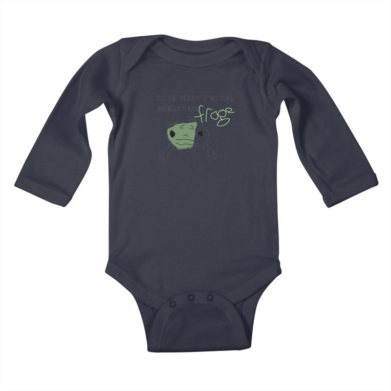 FROGE Kids Baby Longsleeve Bodysuit by saberdog's Artist Shop