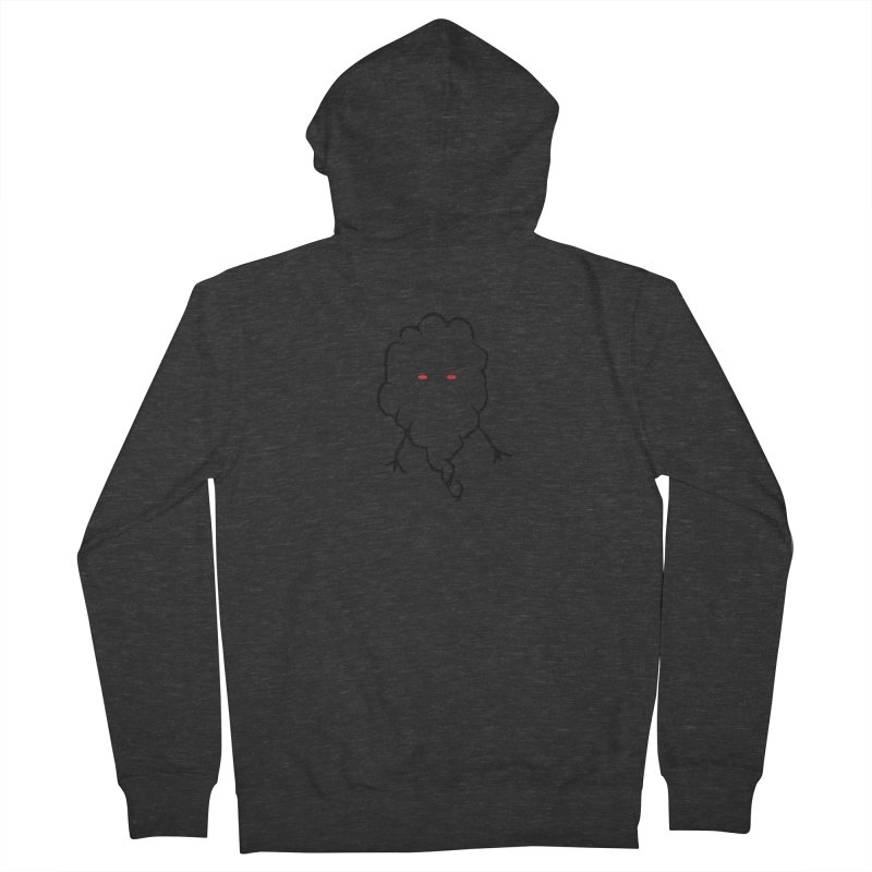 Smoke Women's French Terry Zip-Up Hoody by Sableyes