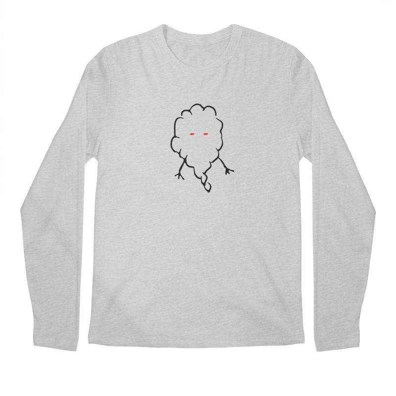 Smoke Men's Regular Longsleeve T-Shirt by Sableyes