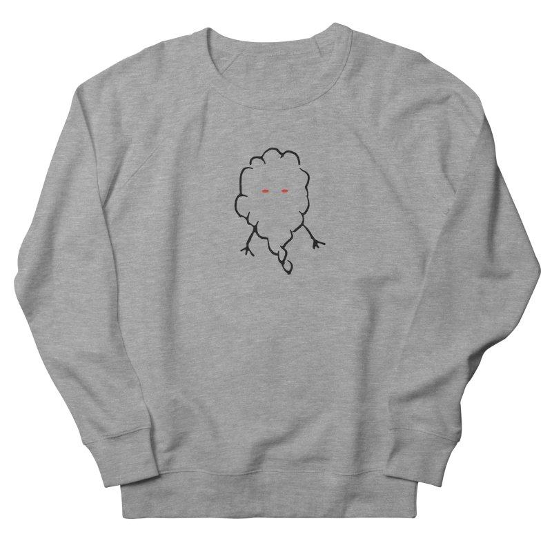 Smoke Women's French Terry Sweatshirt by Sableyes