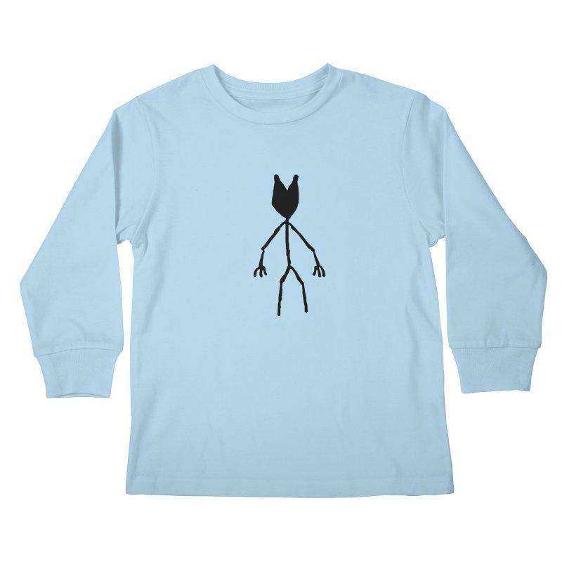 Spectre Kids Longsleeve T-Shirt by Sableyes