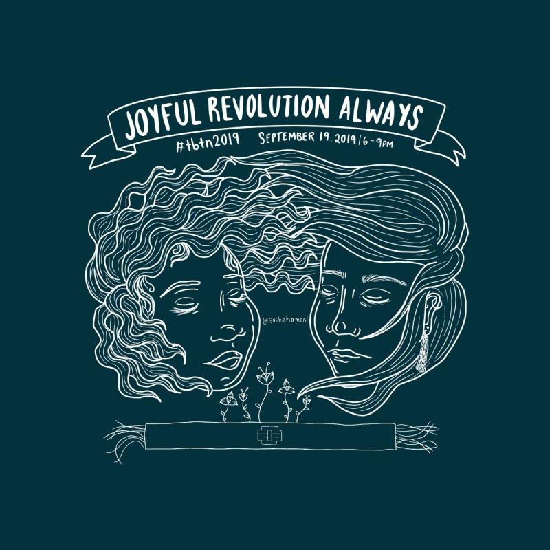 Joyful Revolution Always by Frizz Kid - Black and White by sacha's Artist Shop