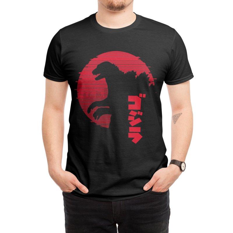 Godzilla Men's T-Shirt by sachpica's Artist Shop