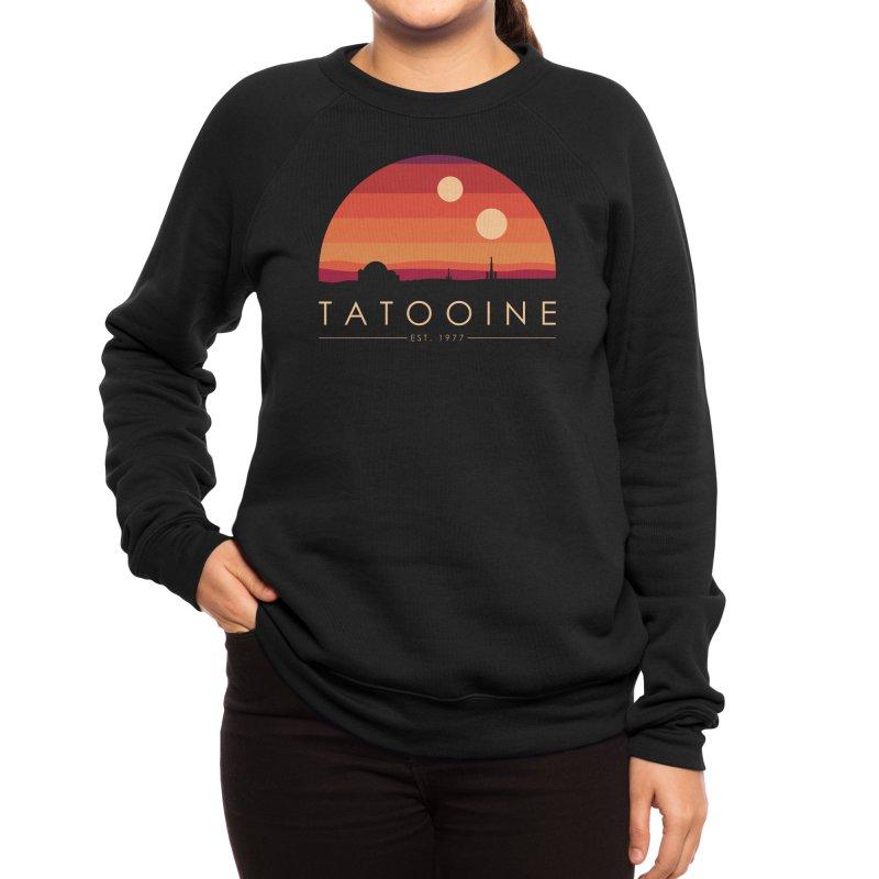 Tatooine Women's Sweatshirt by sachpica's Artist Shop