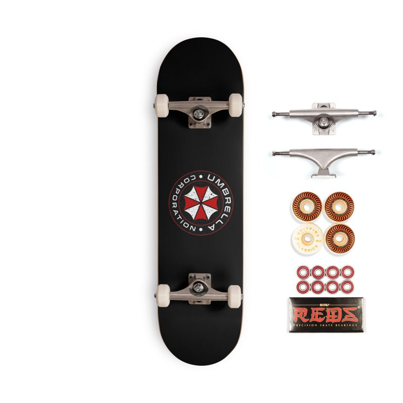 Umbrella Corporation - Resident Evil Accessories Skateboard by sachpica's Artist Shop