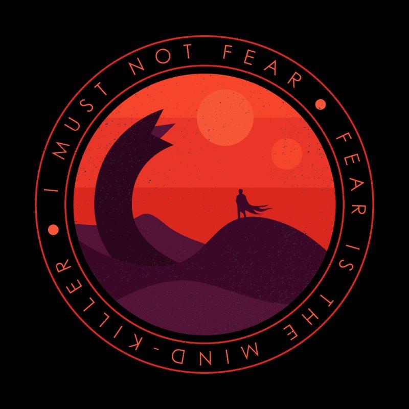 I Must Not Fear - Dune Men's T-Shirt by sachpica's Artist Shop