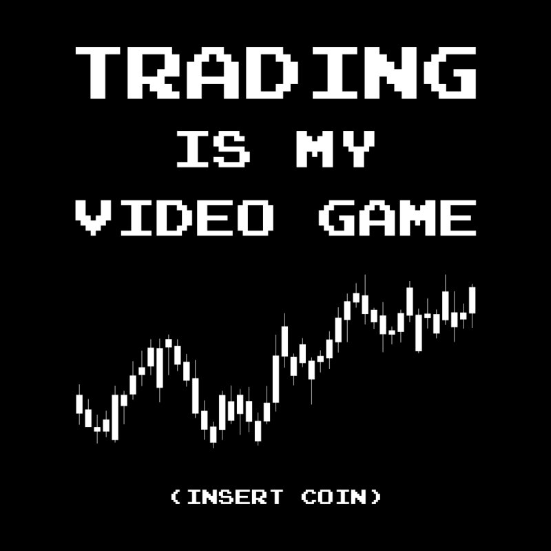 Trading Is My Video Game ✅ Insert Coin Accessories Face Mask by sachpica's Artist Shop