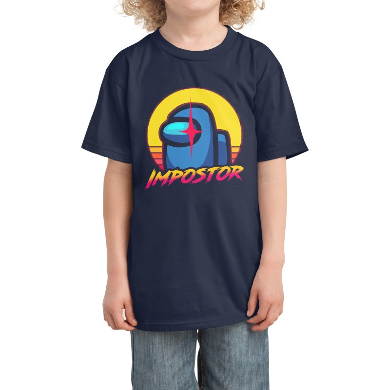 Impostor ✅ Among Us Kids T-Shirt by sachpica's Artist Shop