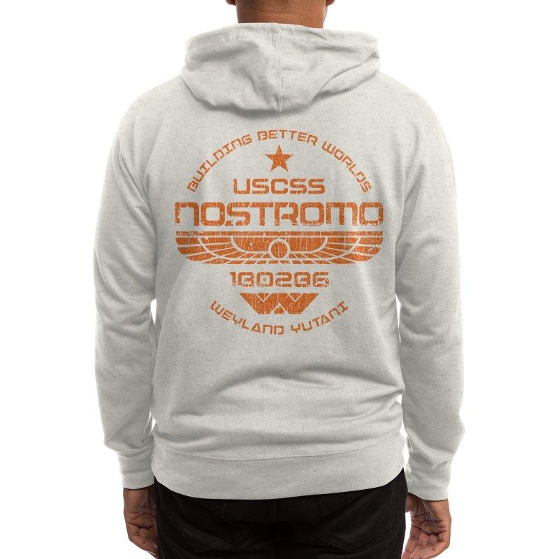 USCSS Nostromo ✅ Men's Zip-Up Hoody by sachpica's Artist Shop