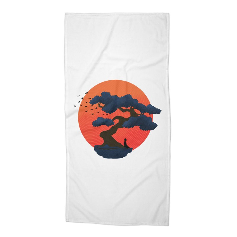 Meditation Accessories Beach Towel by sachpica's Artist Shop