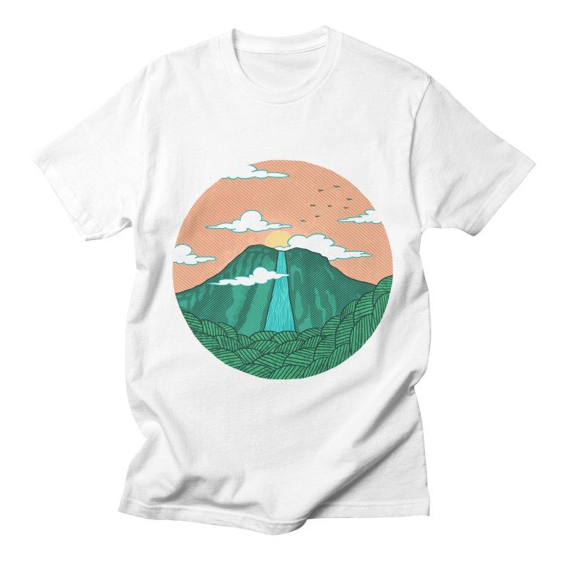 Meditation Men's T-Shirt by sachpica's Artist Shop